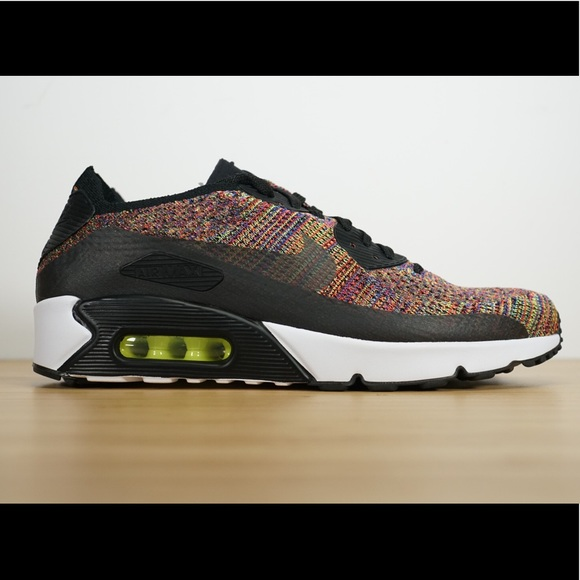 149a995732fbd Mens Nike Air Max 90 Ultra 2.0 Flyknit Multicolor